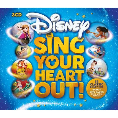Disney Sing Your Heart Out! - Various Artists [CD]