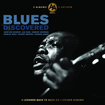 Blues Discovered:   - Various Artists [VINYL]