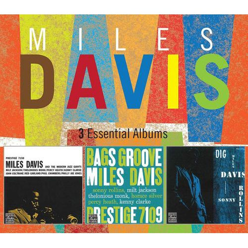 3 Essential Albums - Miles Davis [CD]