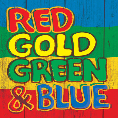 Red Gold Green & Blue:   - Various Artists [CD]