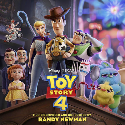 Toy Story 4:   - Randy Newman [CD]