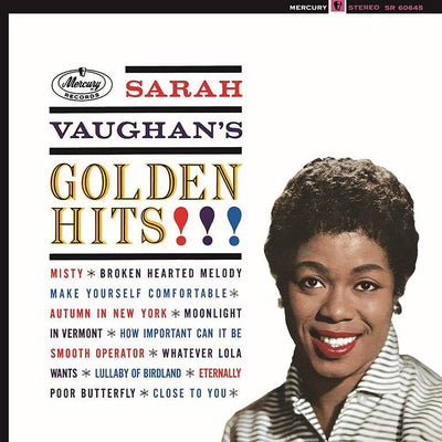 Golden Hits!!!:   - Sarah Vaughan [VINYL Limited Edition]