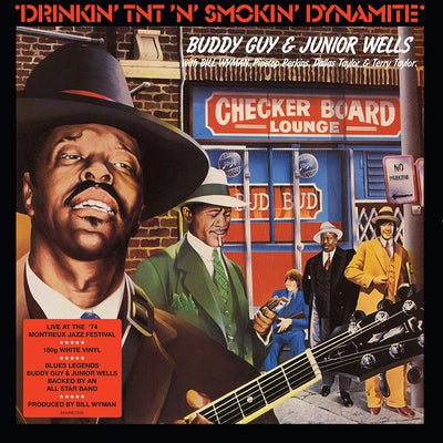 Drinkin' TNT 'N' Smokin' Dynamite - Buddy Guy and Junior Wells [VINYL]