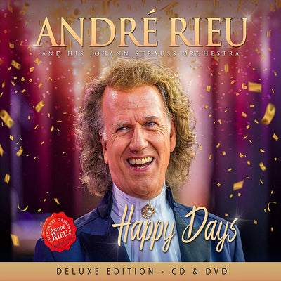 André Rieu and His Johann Strauss Orchestra: Happy Days:   - André Rieu and His Johann Strauss Orchestra [CD Deluxe Edition] ]
