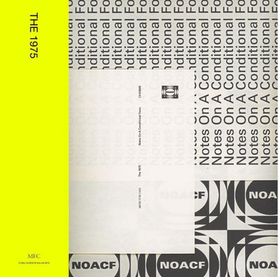 Notes On a Conditional Form:   - The 1975 [CD]