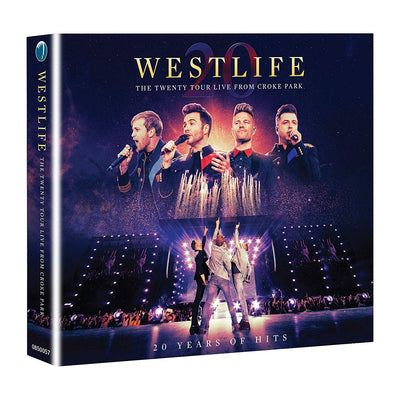 The Twenty Tour: Live from Croke Park - Westlife [CD/DVD Bundle]