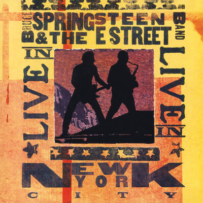 Live in New York City:   - Bruce Springsteen & The E Street Band [VINYL]