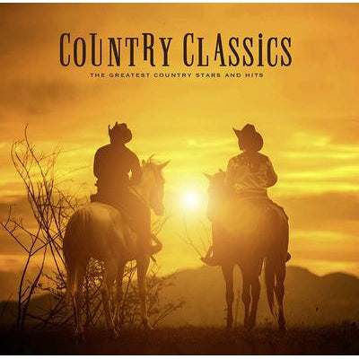 Country Classics: The Greatest Country Stars and Hits - Various Artists [VINYL]