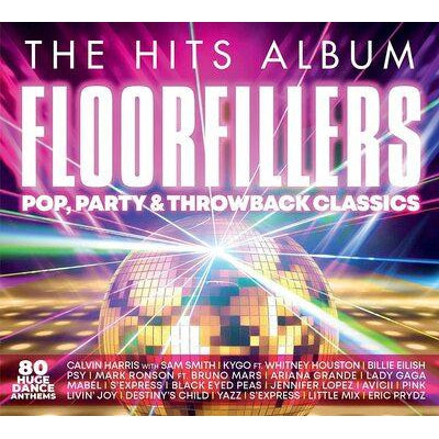 The Hits Album: Floorfillers - Pop, Party & Throwback Classics - Various Artists [CD]
