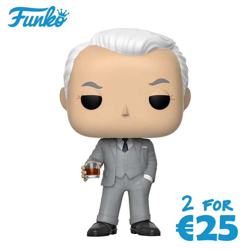 Funko POP! Mad Men: Roger Collectible Figure [Toys]