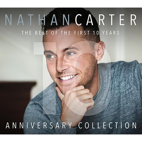 NATHAN CARTER - THE BEST OF THE FIRST 10 YEARS  [CD]