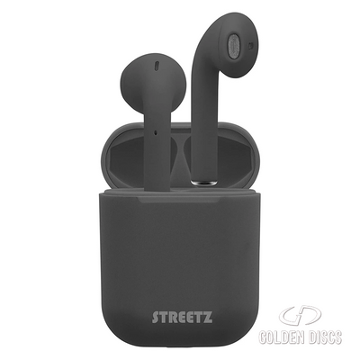 STREETZ TRUE WIRELESS EAR BUDS - BLACK [Accessories]