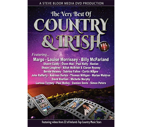 VERY BEST OF COUNTRY IRISH VOL 2 [DVD]