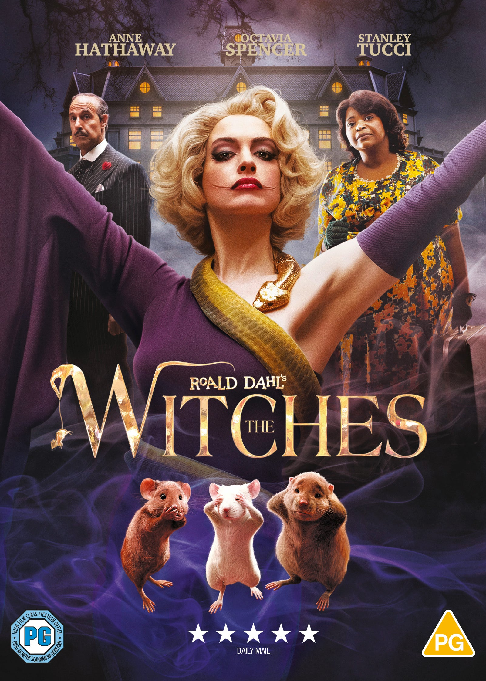 ROALD DAHL'S WITCHES  [DVD]