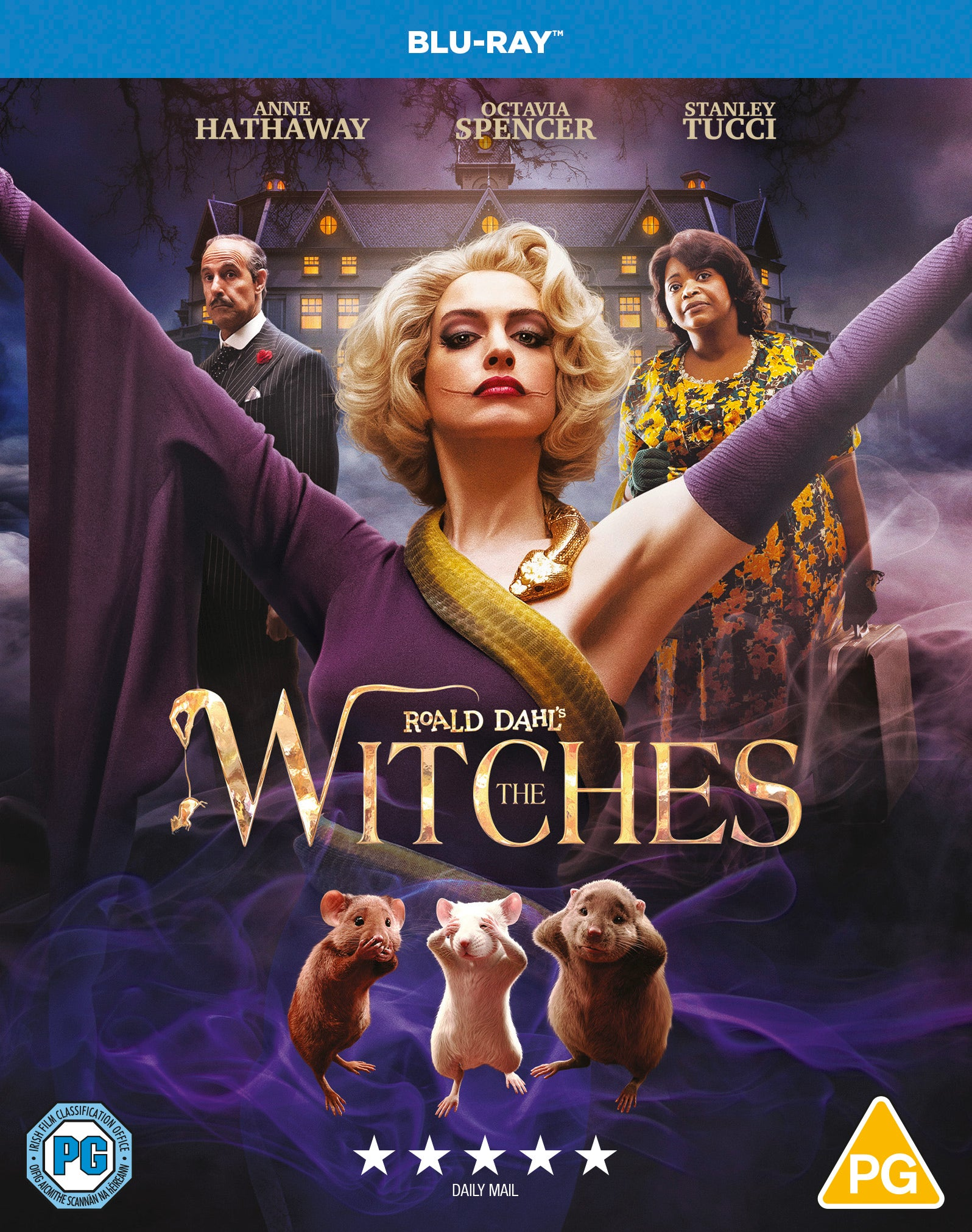 ROALD DAHL'S THE WITCHES [Blu-Ray]