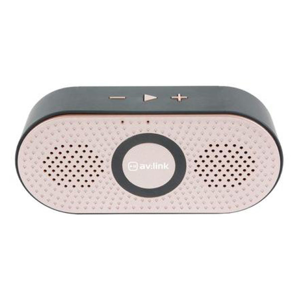AV LINK BLUETOOTH SPEAKER ROSE GOLD [TECH & TURNTABLES] GOLDEN DISCS