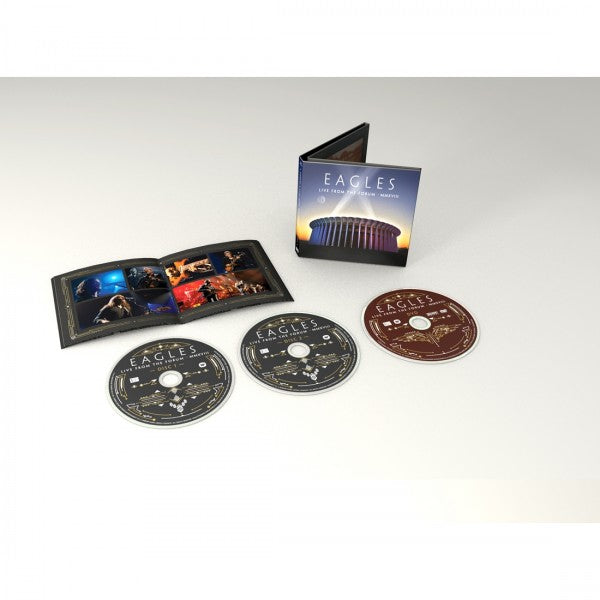 Live From The Forum MMXVIII:- EAGLES [DVD/CD] (Due out 16.10.20)