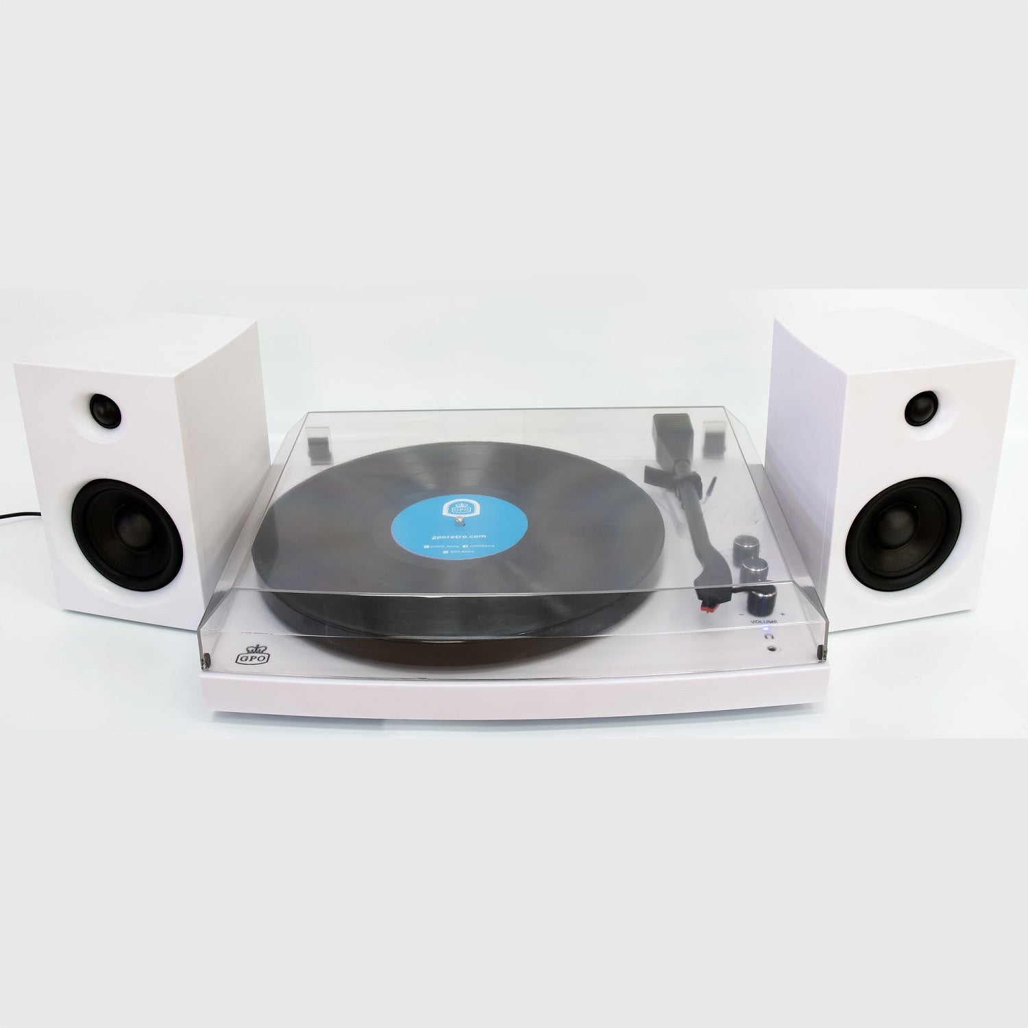 GPO Piccadilly Retro 3-Speed Turntable [Tech & Turntables]