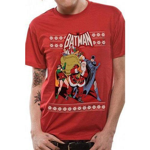Batman Robin And Santa [T-Shirts]