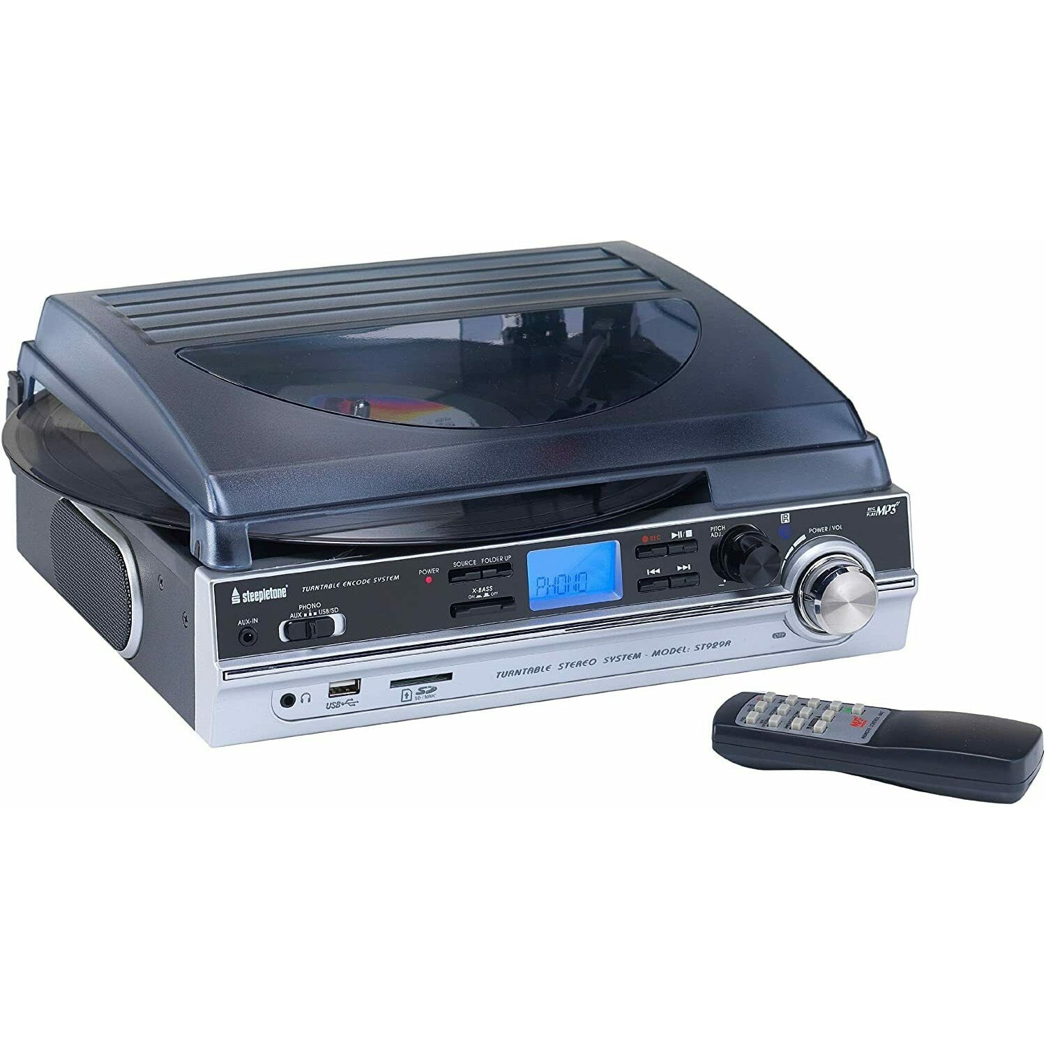 STEEPLETONE ST930 PRO RECORD PLAYER [Tech & Turntables]