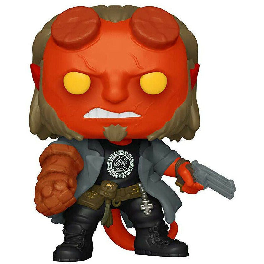 Funko POP! Hellboy with BPRD Tee [Toys]
