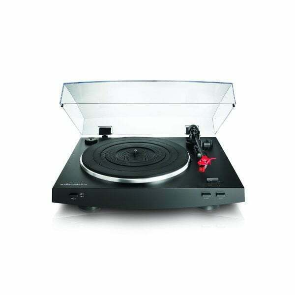 Audio-Technica AT-LP3BK Belt-Drive Stereo Turntable [Tech & Turntables]