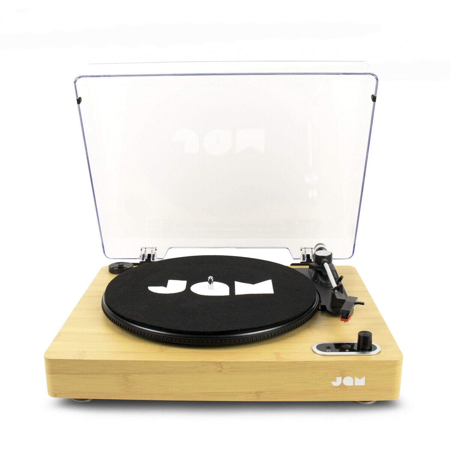 JAM Sound Stream Turntable (Wood) [Tech & Turntables]