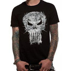 Punisher Shatter Skull [T-Shirts]
