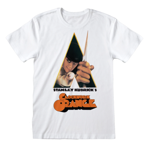 CLOCKWORK ORANGE POSTER WHITE [T-Shirts]