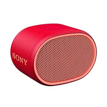 Sony SRS-XB01 Compact Portable Wireless Bluetooth Speaker RED [Tech & Turntables]