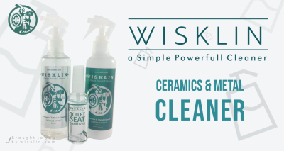 WISKLIN - Ceramics and Metal Cleaner