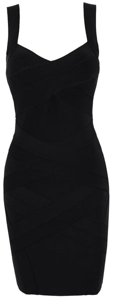 Black Bodycon Women's Bandage Dress Sale