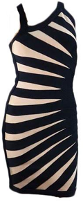 Spider Bodycon Women's Bandage Dress
