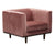 Albert chair pink velvet furniture