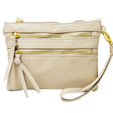 XXX2 ZIPPER CROSSBODY OR CLUTCH...Several Color options