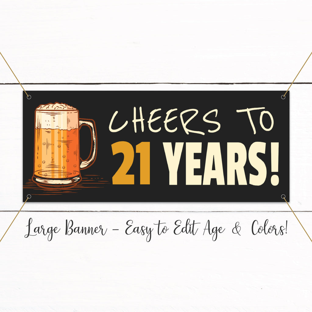 21st 30th 40th 50th Adult Beer Surprise Birthday Party