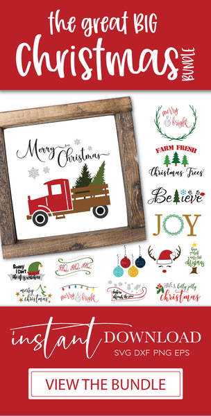 Christmas Crafters SVG DXF Bundle