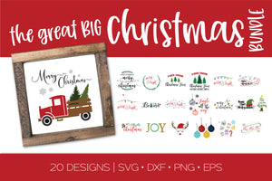 Christmas Craft SVG Bundle