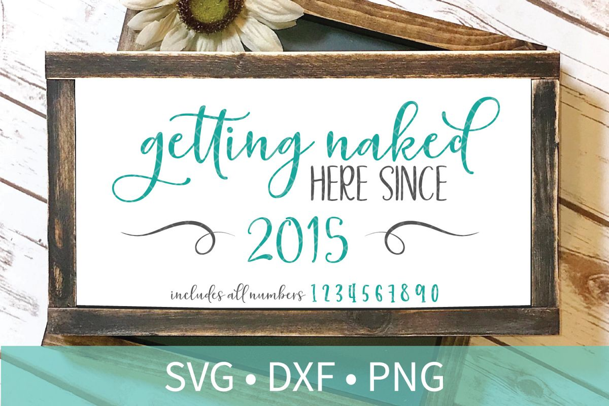 Getting Naked Here SVG DXF EPS Silhouette Cut File
