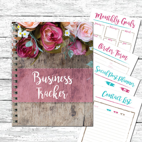2019 Printable Business Planner Journal Tracker