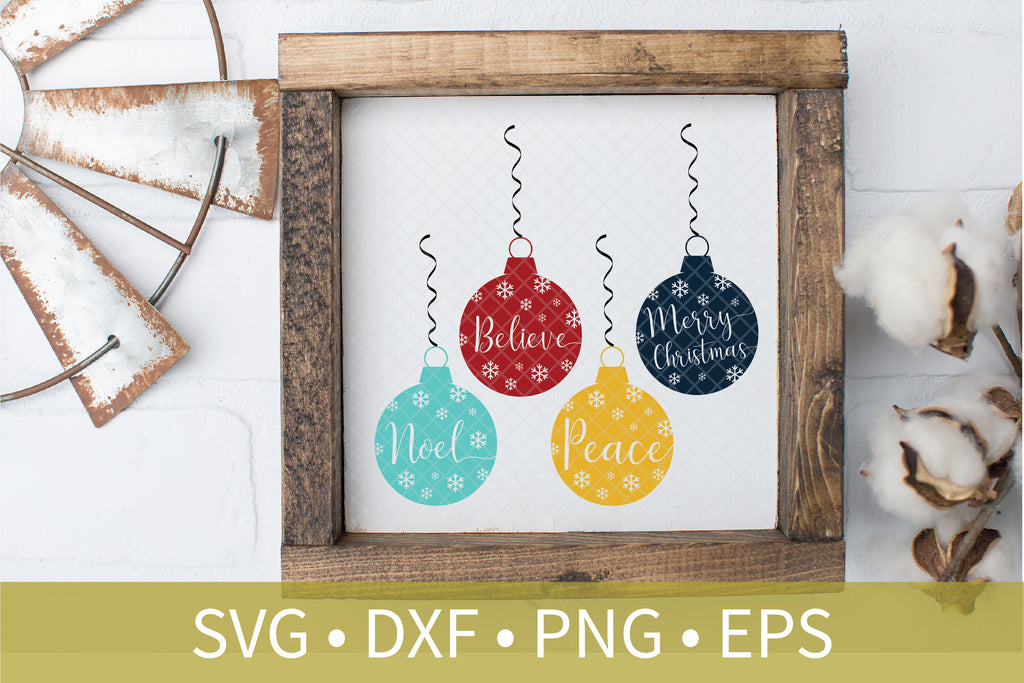 Christmas Crafting Sign Bundle Svg Dxf Eps Silhouette Cut File Taylor George Designs