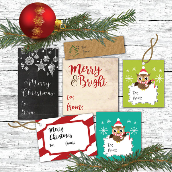 Christmas Gift Tags - Printable Christmas Gift Tags