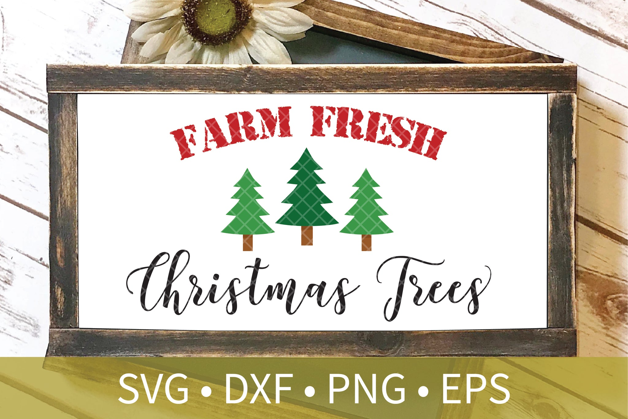 Farm Fresh Christmas Tree SVG
