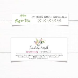 Email Signature Design - Custom Email Footers