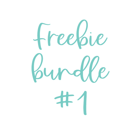 Freebie Bundle #1