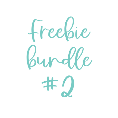 Freebie Bundle #2
