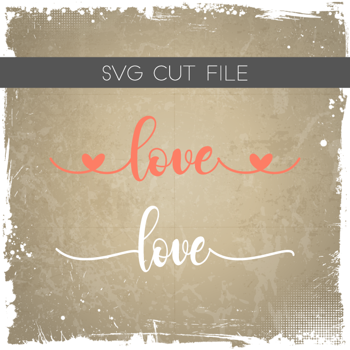 Valentines SVG - Love Hearts Cut File SVG - Love Silhouette File - Love Planter Box - Love Sign - Valentines Gift - Farmhouse Decor,dxf,svg