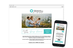 Newsletter PSD & HTML Email Template