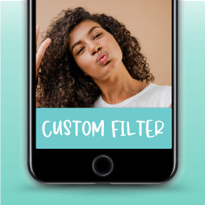 Custom Designed Snapchat Filter Geofliter