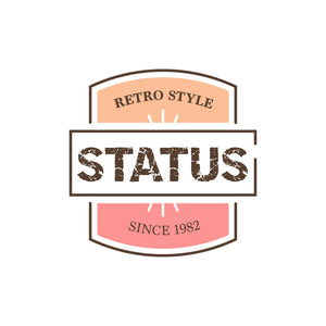 Vintage Retro Distressed Logo Design